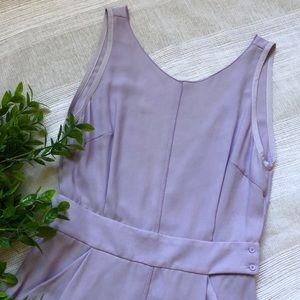 Aritzia Wilfred Pastel Purple Leila Dress